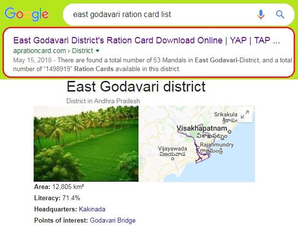 East-Godavari-District-Ration-Card-List-Search-Download