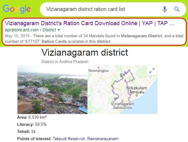 Vizianagaram-District-Ration-Card-List-Search-Download