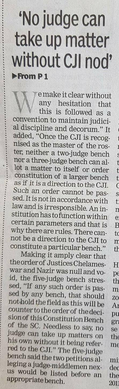 No-Judge-can-take-up-matter-without-CJI-nod