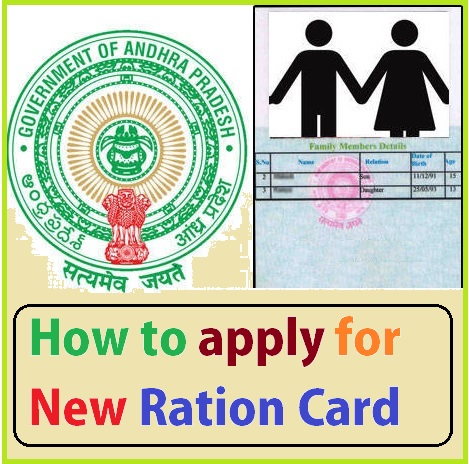 Ration Card Application Form Telugu Pdf